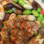 池袋 火星カレー 鶏と豆