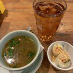 THAI STREET FOOD ランチ スープと生春巻き