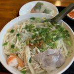 カンボジア料理 アンコールワット ランチ クィティウ