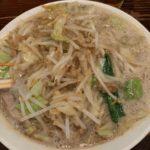 濃菜麺井の庄 練馬 濃菜麺 ジロベジ