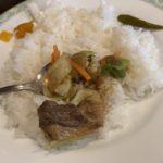 竹橋カレーハウスボルツ ビーフと野菜カレー